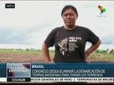 Brasil: congreso aprobaría ley que afecta a pueblos indígenas