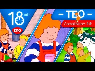 TEO | Collection 01 (Teo and games) | Full episodes for kids | 18 minutes