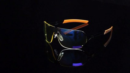 Lunettes pour écrans anti lumière bleue Gunnar Optiks DESMO - Onyx Orange
