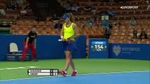 WTA Katowice: Francesca Schiavone - Alize Cornet: 2-0 (Özet)