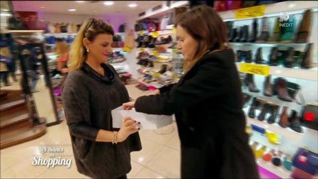 Les reines du shopping : une candidate odieuse avec les vendeuses