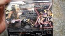 Unboxing Ninja Gaiden Sigma 2 PS3 Sony Playstation Tecmo Koei Team Ninja Classic Ryu hayab