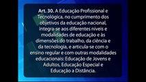 Modalidades de Educação Básica - Aula dos cursos de pós-graduação EAD do Grupo Educa+