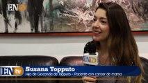 El emotivo mensaje de Susana Topputo hija de una paciente con cáncer