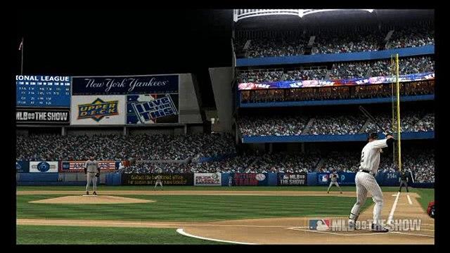Derek Jeter ( MLB 09 The Show ) HOME RUN