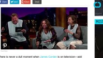 Melissa McCarthy Wears a Mouth Guard on The Late Late Show and it's Hilarious