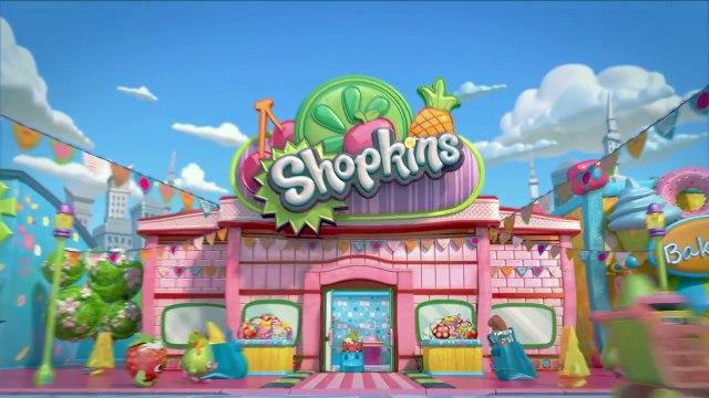 Shopkins Cartoon - Episode 20, Shopping Cart Rally