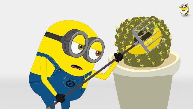 Minions cactus planet Banana Funny Cartoon ~ Minions Mini Movies 2016 [HD]