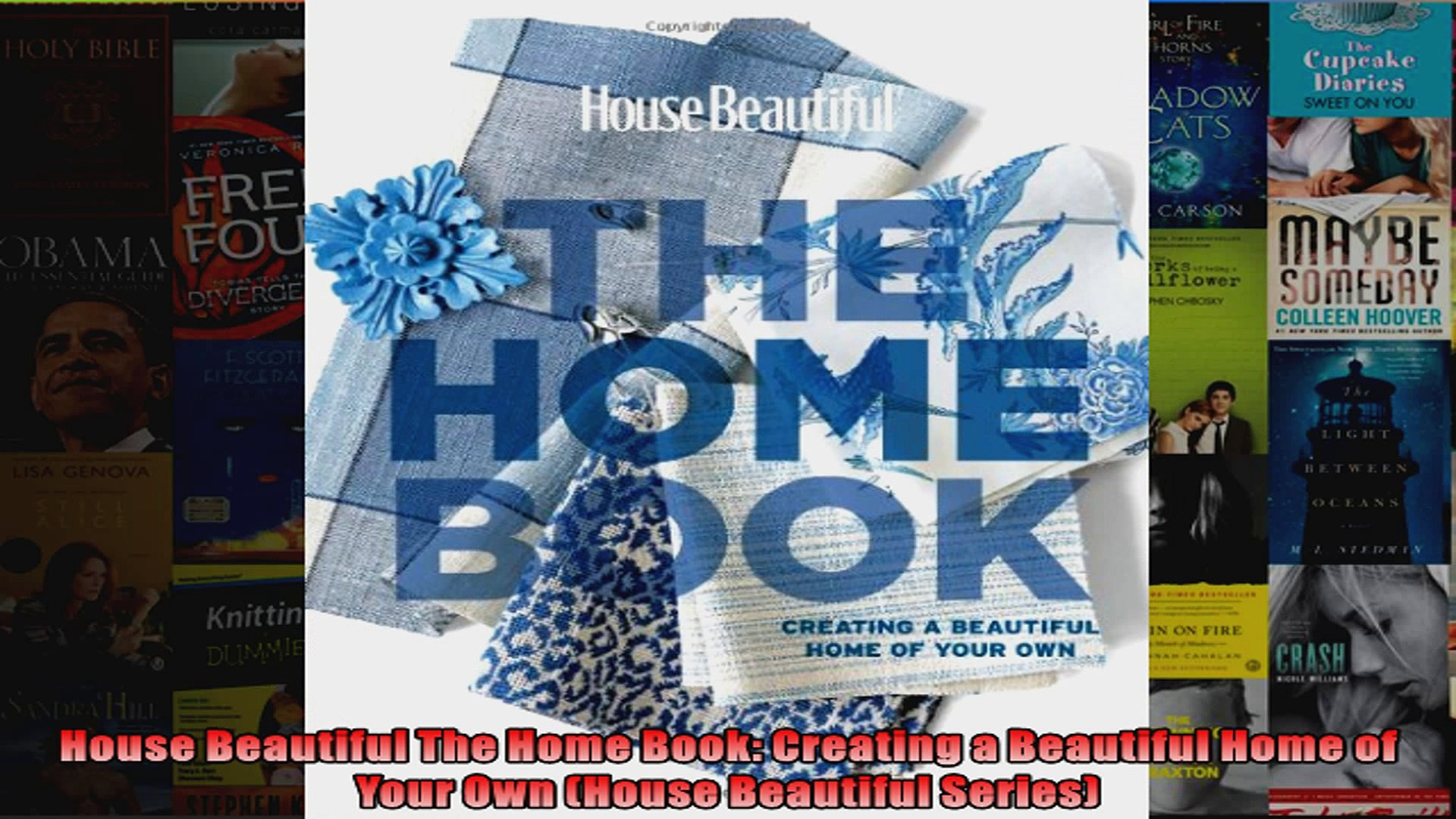 Read  House Beautiful The Home Book Creating a Beautiful Home of Your Own House Beautiful  Full EBoo
