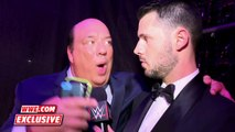 Paul Heyman rejoices after Lesnars win over Ambrose: WrestleMania 32 Exclusive, April 3, 2016
