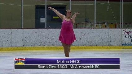 Melina Heck - 2016 Super Series VISi - Rink 2 (Kraatz)