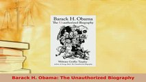 PDF  Barack H Obama The Unauthorized Biography PDF Online