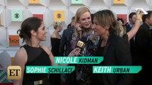 EXCLUSIVE: Nicole Kidman Makes Husband Keith Urban Blush on the ACMs Red Carpet!