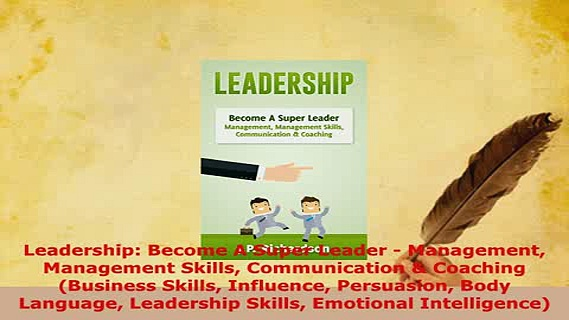 PDF  Leadership Become A Super Leader  Management Management Skills Communication  Coaching Download Online