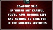 Being Boring - Pet Shop Boys tribute - Lyrics