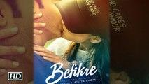 Befikre FIRST LOOK Releases Ranveer Singh And Vaani Kapoor Aditya Chopra