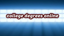 Online Business Associates Degree Programs - college degrees online
