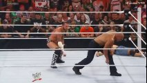 WWE CM Punk gives The Rock a GTS Slow Motion Replay from Raw 1000