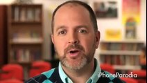 Parodia Spot Apple iPhone - iBooks