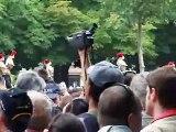 14 JUILLET 2007 - DEFILE PARIS - SALUT DU PRESIDENT SARKOZY