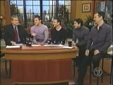 98 Degrees Co-Hosting Live with Regis
