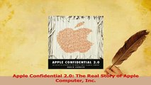 Read  Apple Confidential 20 The Real Story of Apple Computer Inc Ebook Online