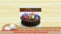 PDF  Simple Birthday Cake Recipes Kids and Adults Cakes Simple and Fast Cake Recipes Download Full Ebook