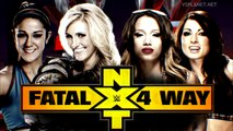 Charlotte vs Sasha Banks vs Becky Lynch vs Bayley, NXT TakeOver Rival (эфир VSplanet.net)