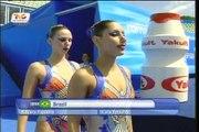 nado sincronizado Brazil campeonatos mundiales de natacion Roma 2009