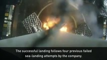SpaceX land reusable rocket for the first time