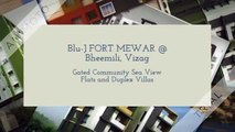 Blu-J FORT MEWAR Vizag Sea View Gated Flats Villas Bheemili