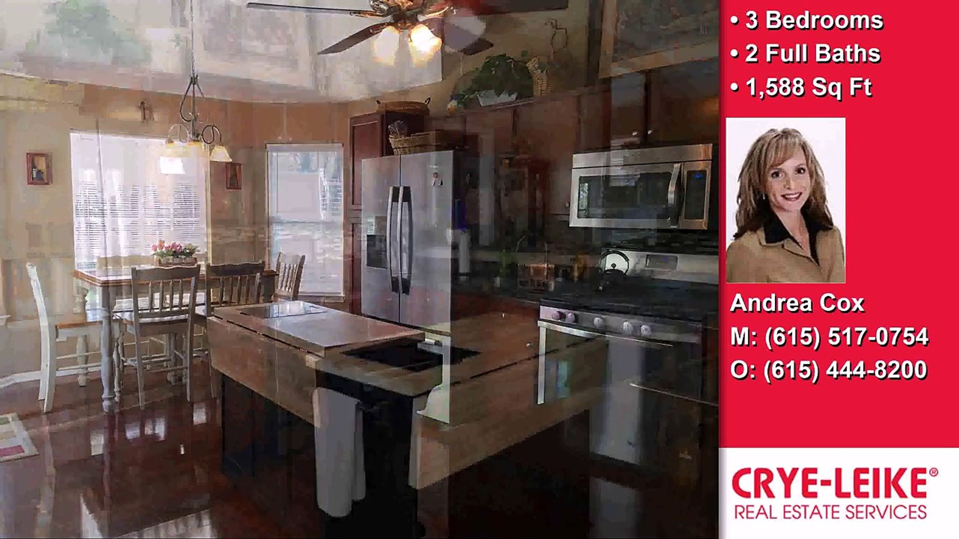820 Stone Hedge Ct, Old Hickory, TN, 37138 Tour - $174,500