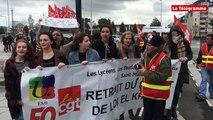 Saint-Malo. 170 manifestants contre la Loi travail