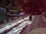 Video route de montagne himalaya