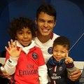 Quand Thiago Silva entraîne ses fils !