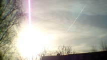 7.1.14 NIMM ZWEI Chemtrail duo formation after HAARP failed NWO double whopper VS ORGONITE