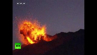 RAW: Sakurajima volcano erupts 50km from nuclear plant in Japan