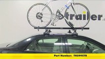 Review of the Thule Big Mouth Roof Bike Rack on a 2013 Toyota Corolla - etrailer.com