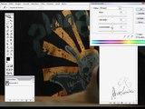 Vídeo que mostra como deixar foto preto e branco com detalhe