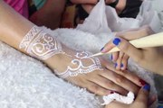 Newly Amazing Ramadan Henna with _ حنّة لشهر رمضان المبارك I Planning Your Henna Party in Ramadan I Best Arabic Henna Designs for Ramdan I Eid Mubarak Mehndi Heena designs for Girls | Ramadan Mubarak 2016 Ramadan Kareem