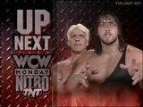 Sting & Lex Luger vs Ric Flair & Giant, WCW Monday Nitro 22.04.1996