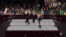 WWE 2K16 eazy b v real deal rex submission match