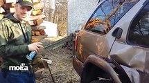 Enflammer son pneu pour le changer !
