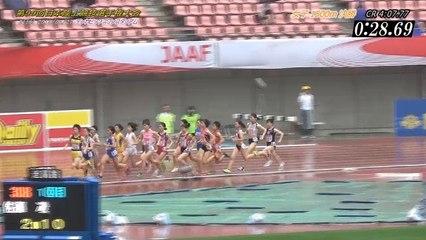 2015日本選手権 女子1500m決勝