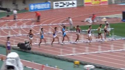 2015日本選手権 男子110mH予選~決勝