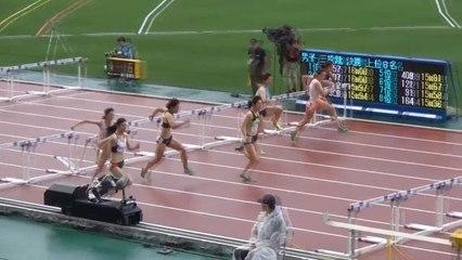2015日本選手権 女子100mH予選~決勝