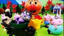 Peppa Pig Family   Baikinman and Anpanman anime toys anime kids animation