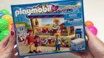 Playmobil Summer Fun Ice Cream Parlor Playset + Peppa Pig Ice Creams Play Doh Ice Creams Part 1