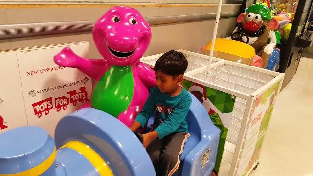 Jo 10/13/2015 - toys r us barney train