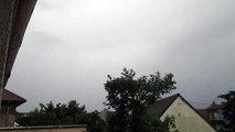 Orage 9 Juin 2014 - Foudre proche à 1,7Km (Essonne)